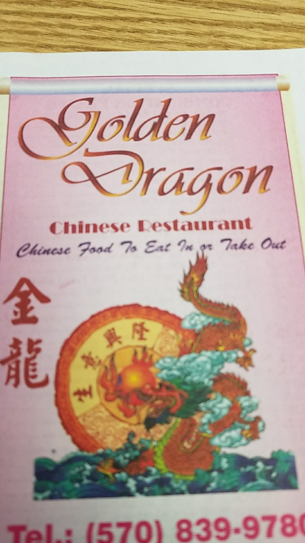 Mount Pocono, PA - Taking a lunch in a golden dragon restaurant