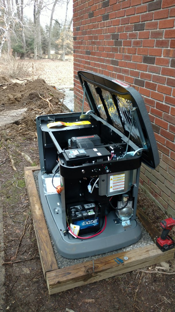 Germansville, PA - Installing a propane generator in Germansville