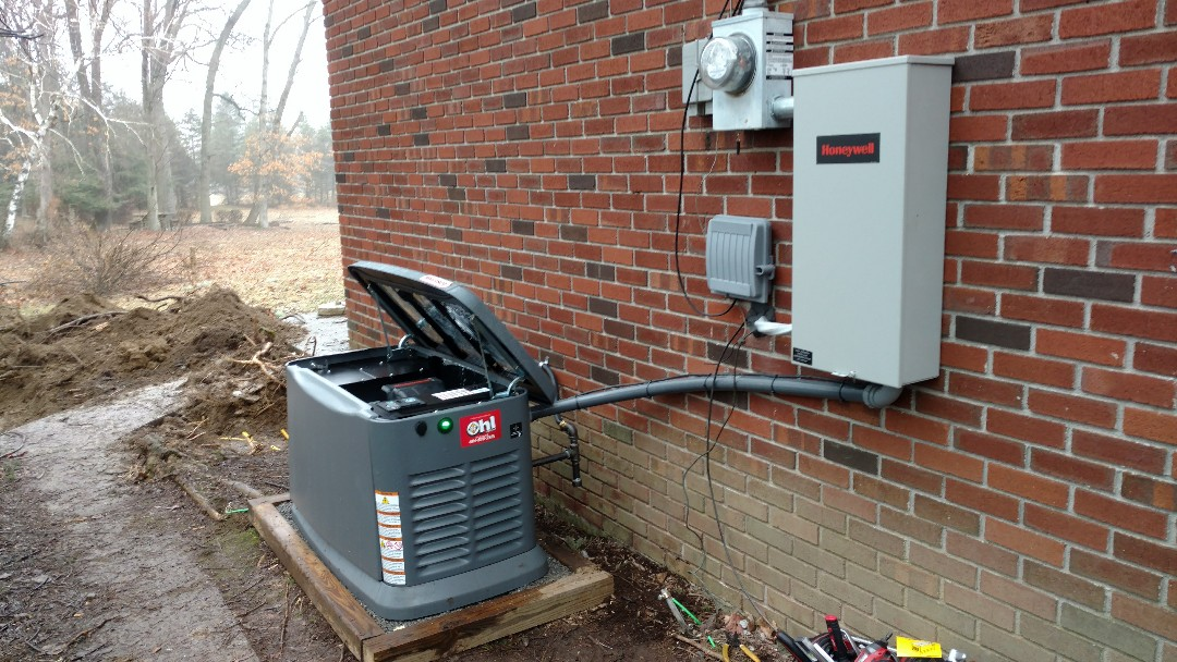 Germansville, PA - Installed a new propane generator in Germansville