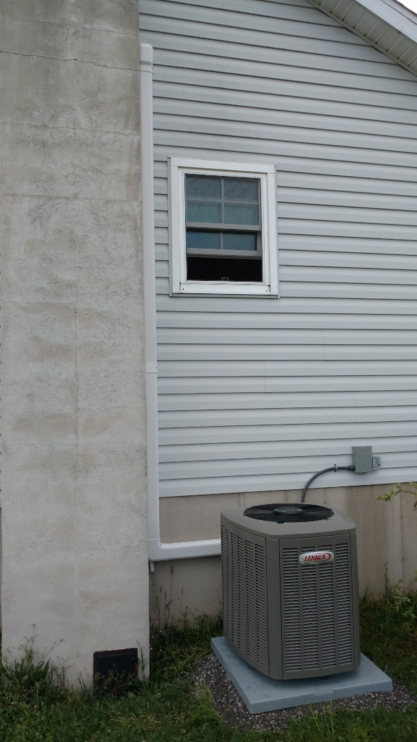 Lehighton, PA - Installed a new Air Conditioning system in Lehighton