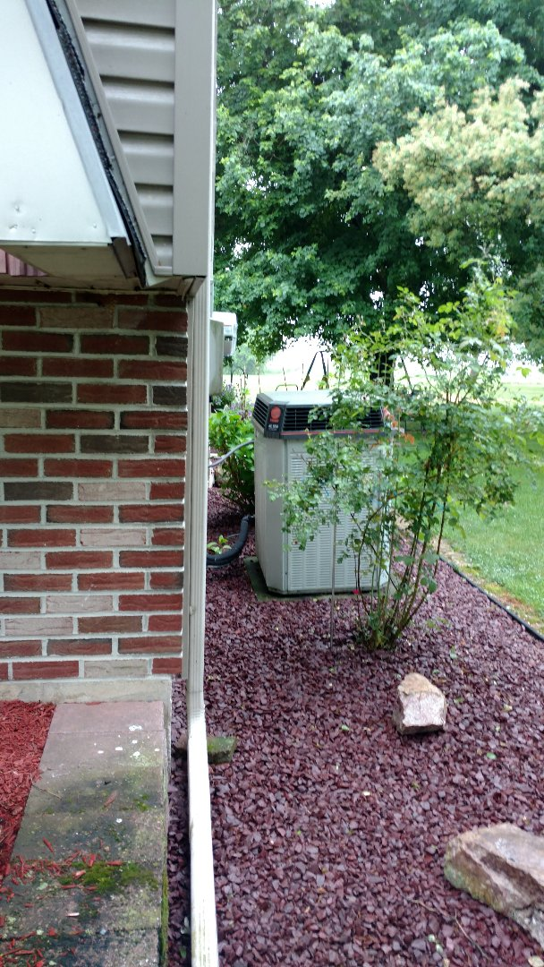 Germansville, PA - Starting a preventative maintenance on an Air Conditioning system in Germansville
