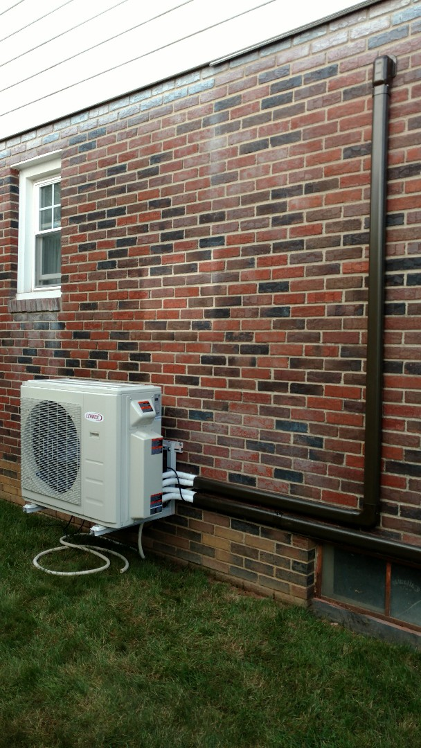 Easton, PA - Installing a new Lennox Ductless heatpump system in Easton