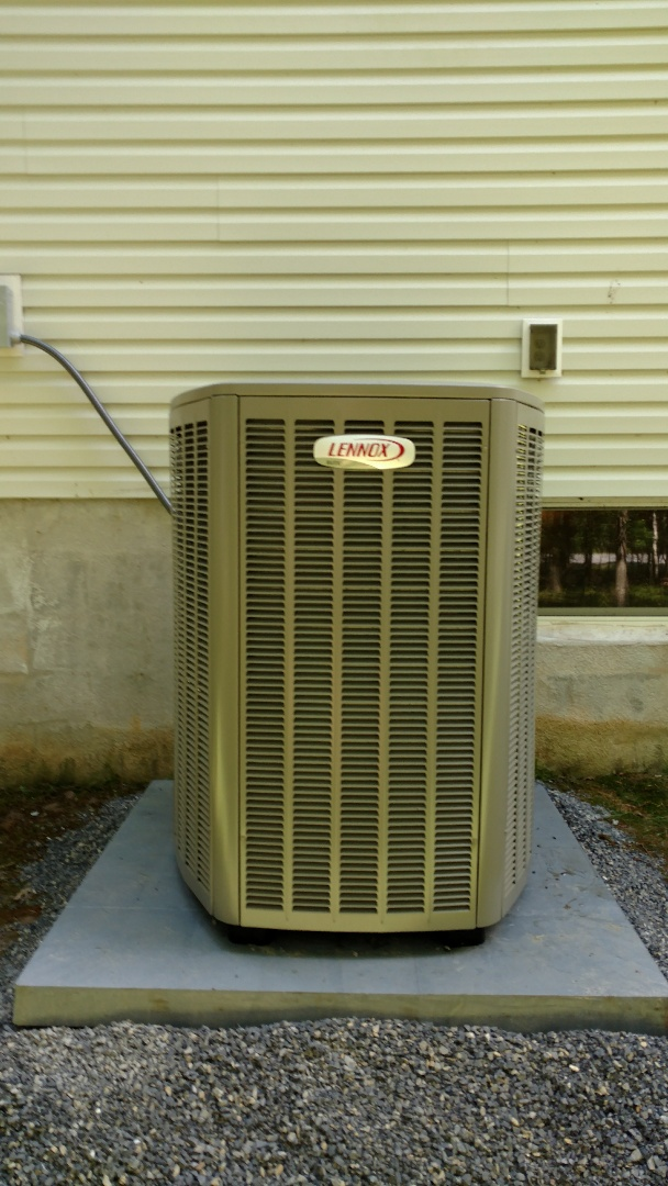 Albrightsville, PA - Installed Lennox heat pump system in Albrightsville