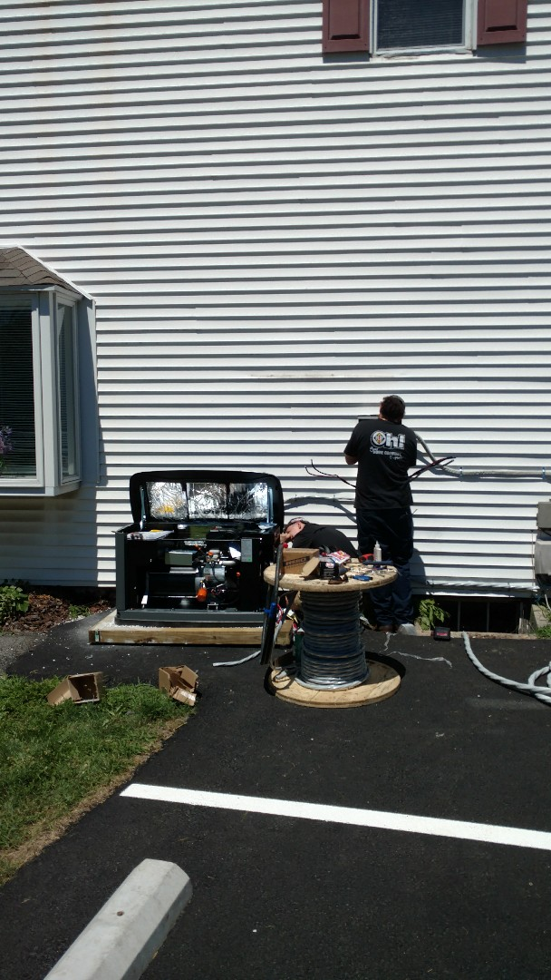 New Ringgold, PA - Installing a new propane generator in New Ringgold