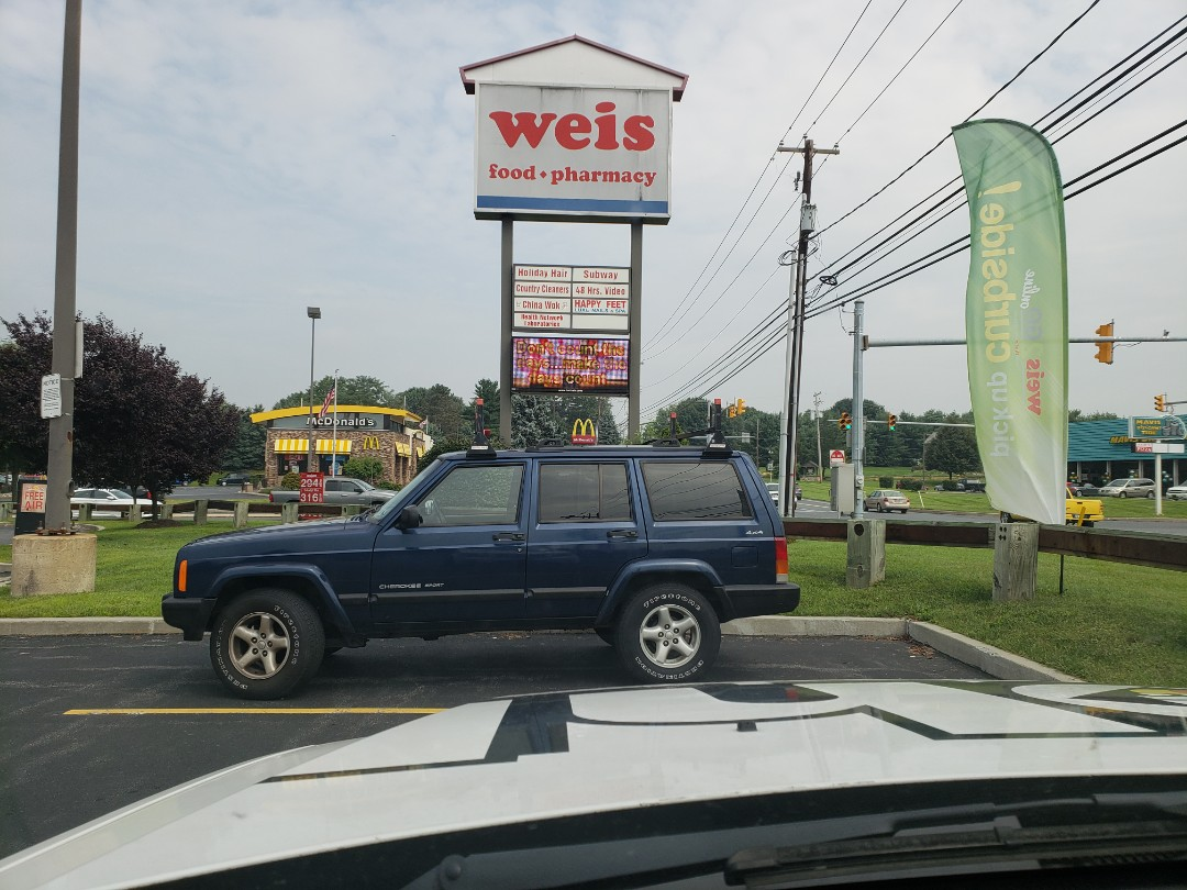 Schnecksville, PA - A sign got my attention on my way to a propane estimate