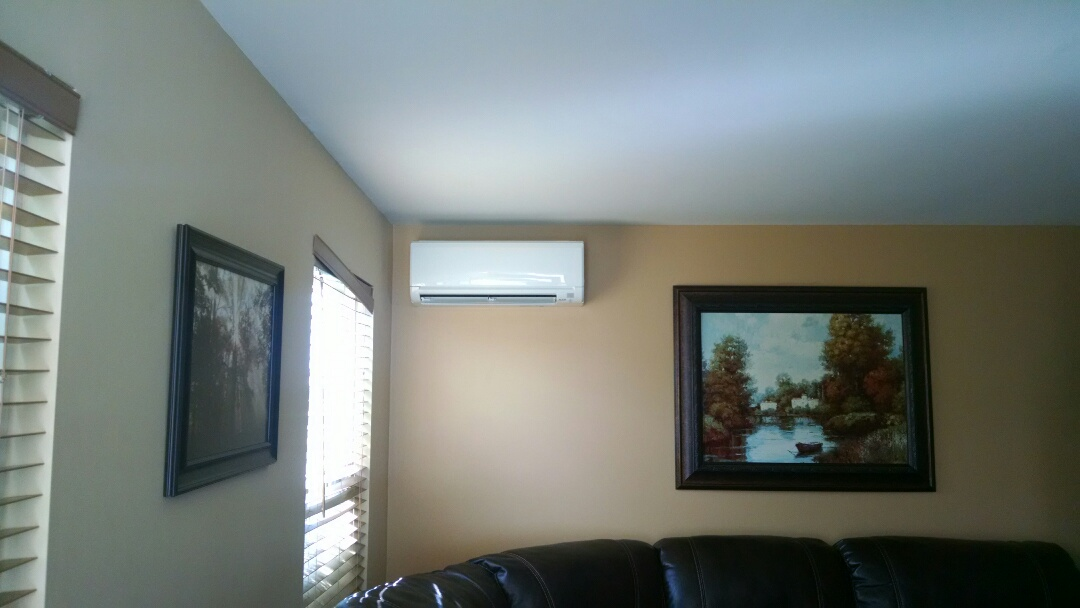 Effort, PA - Servicing a Mitsubishi ductless heat pump near effort