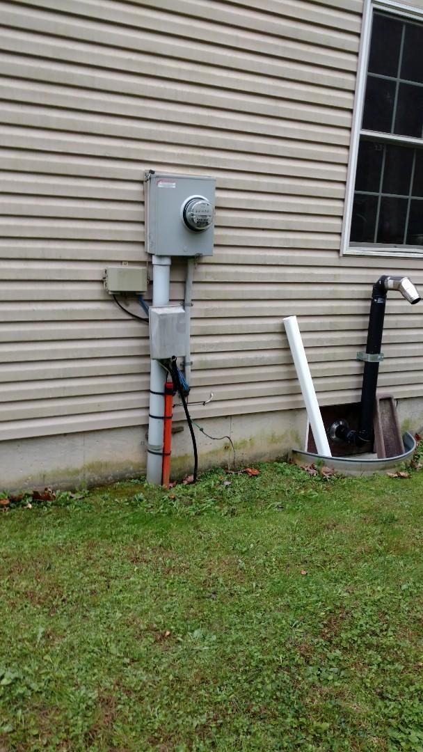 Danielsville, PA - Starting a new propane generator installation in Danielsville