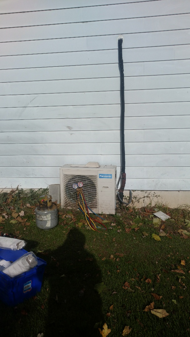 Tamaqua, PA - Changing out a Ductless heatpump system in Tamaqua