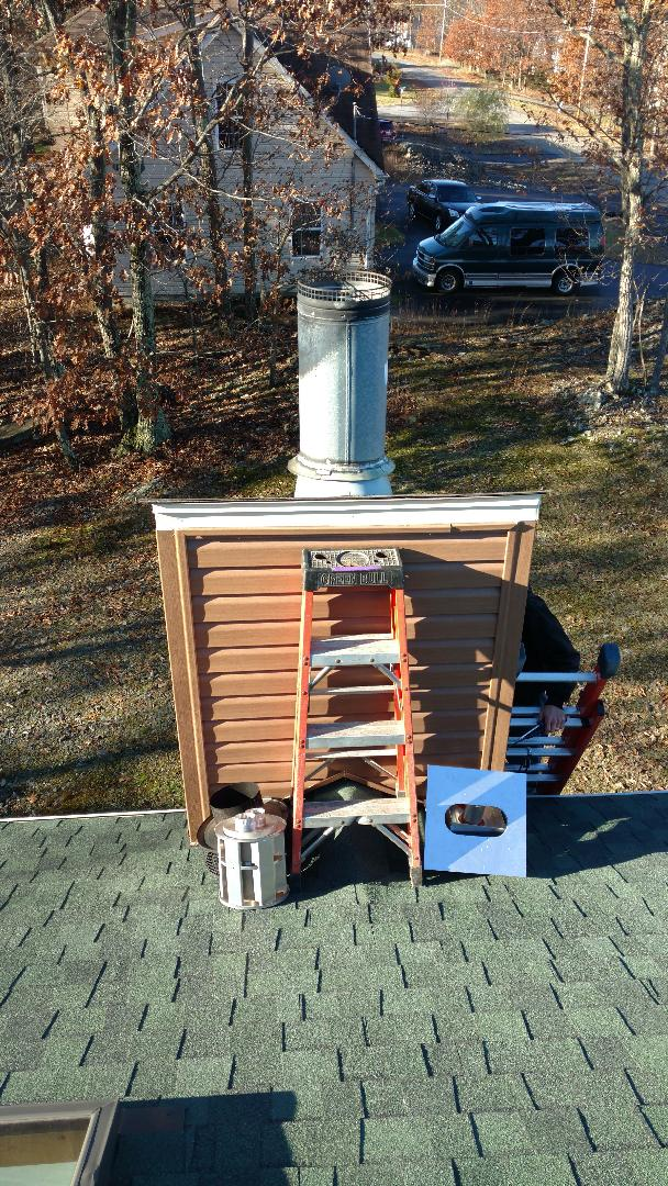 East Stroudsburg, PA - Installing a new chimney liner in Tannersville