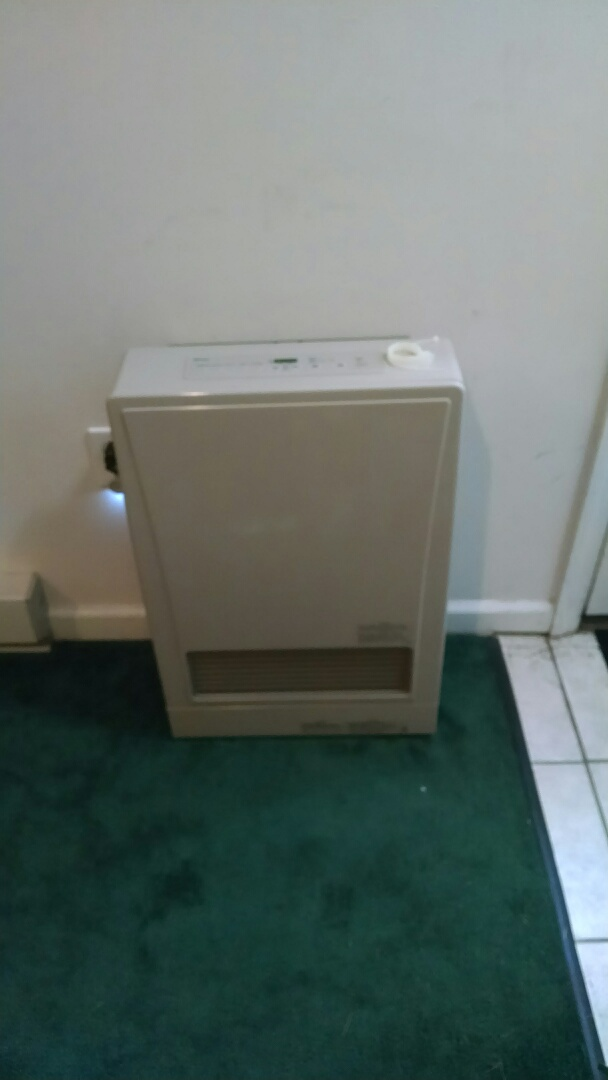 Drums, PA - Installation of a rinnai direct vent space heater near drums