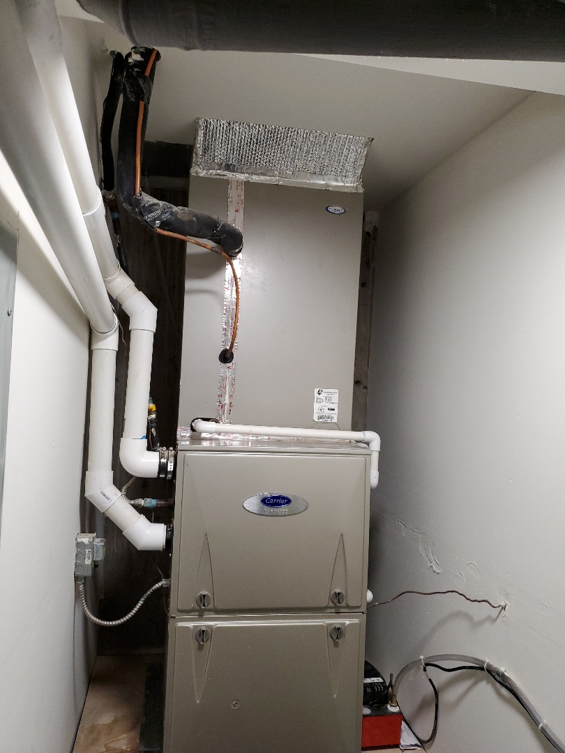 Piedmont, CA - High Efficiency furnace and AC