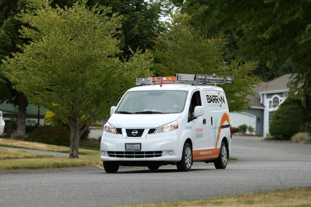 Ferndale, WA - Performing a duct cleaning for a family in Bellingham, Wa.