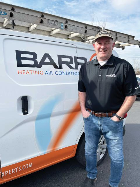 Blaine, WA - Meeting with a customer in Blaine, WA, to propose a heat pump addition.