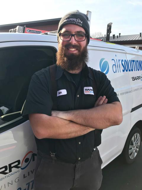 Blaine, WA - In Blaine, WA, proposing a ductwork repair estimate for a customer.