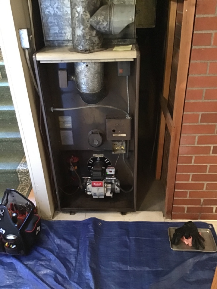 Coupeville, WA - Oil furnace repair and inspection in Coupeville, WA.