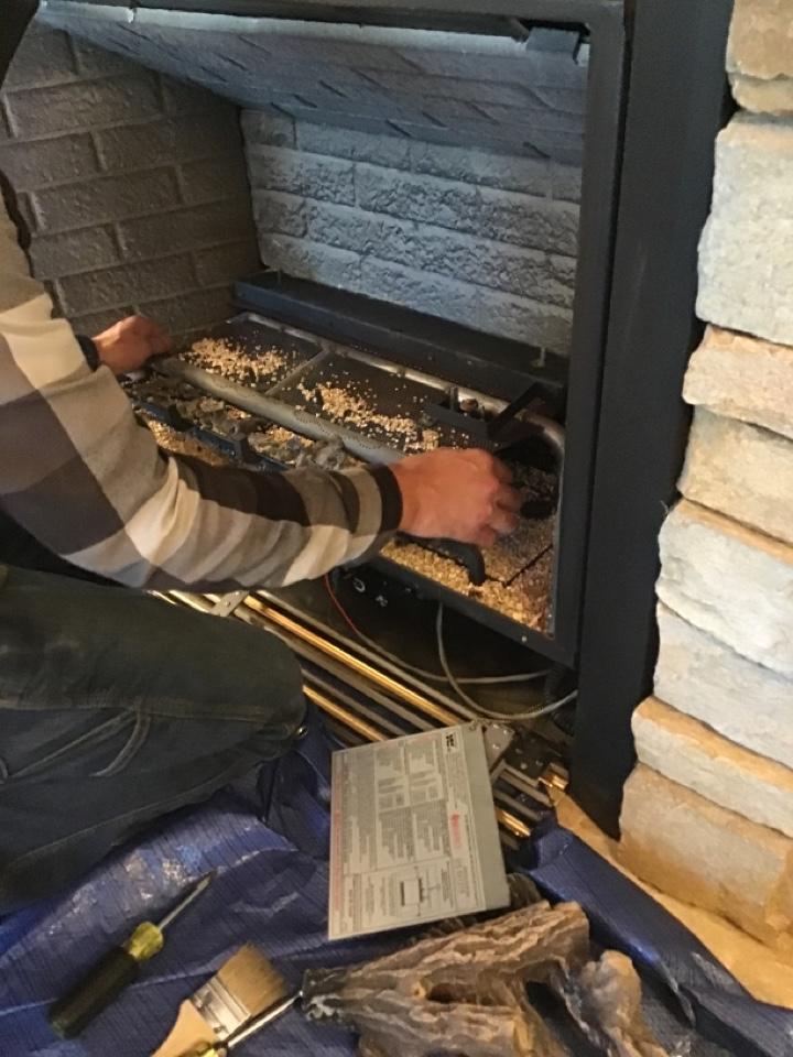 Coupeville, WA - Propane fireplace repair
