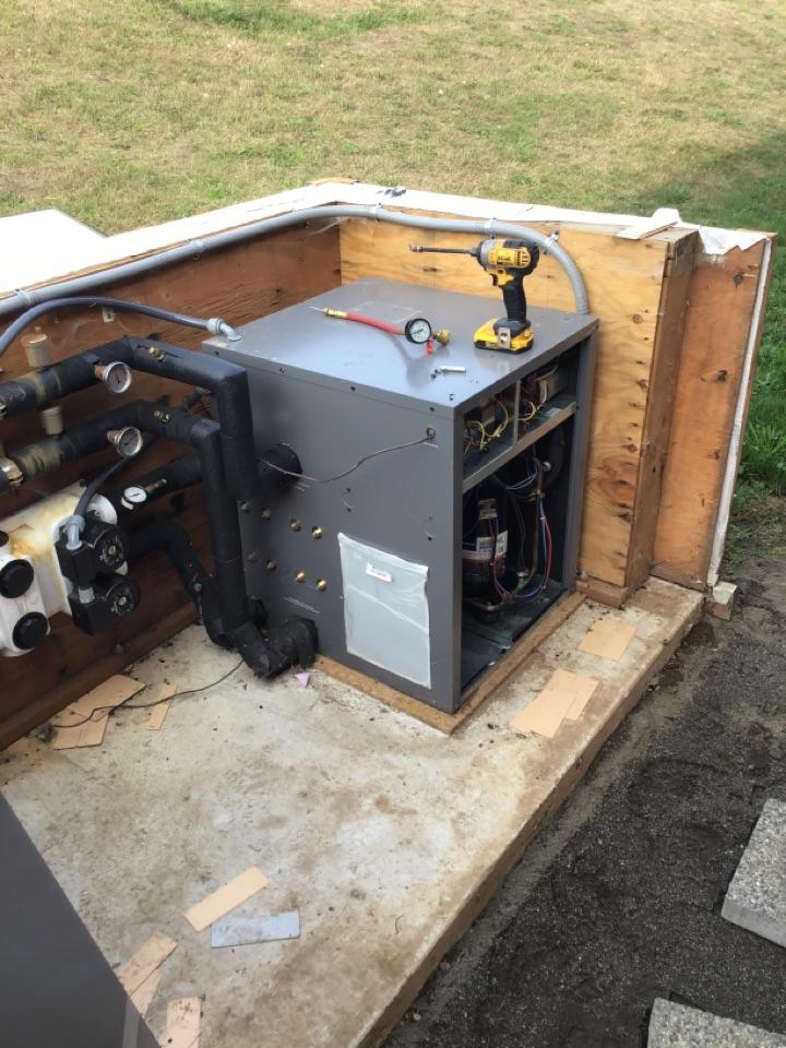 Everson, WA - Geothermal heat pump maintenance in Everson, WA.