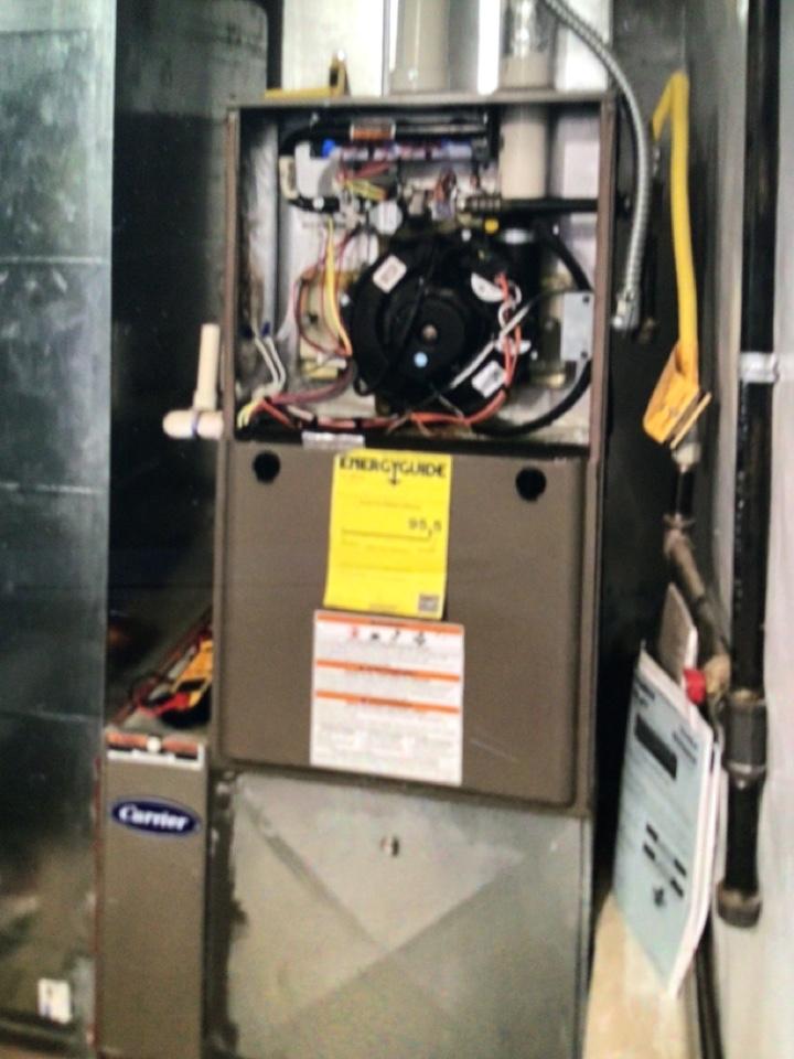 Arlington, WA - Furnace maintenance in Arlington, WA.