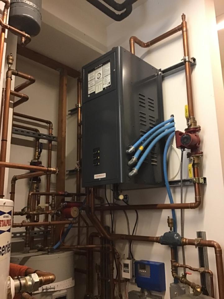Eastsound, WA - Electric boiler system diagnostic. Orcas island, WA