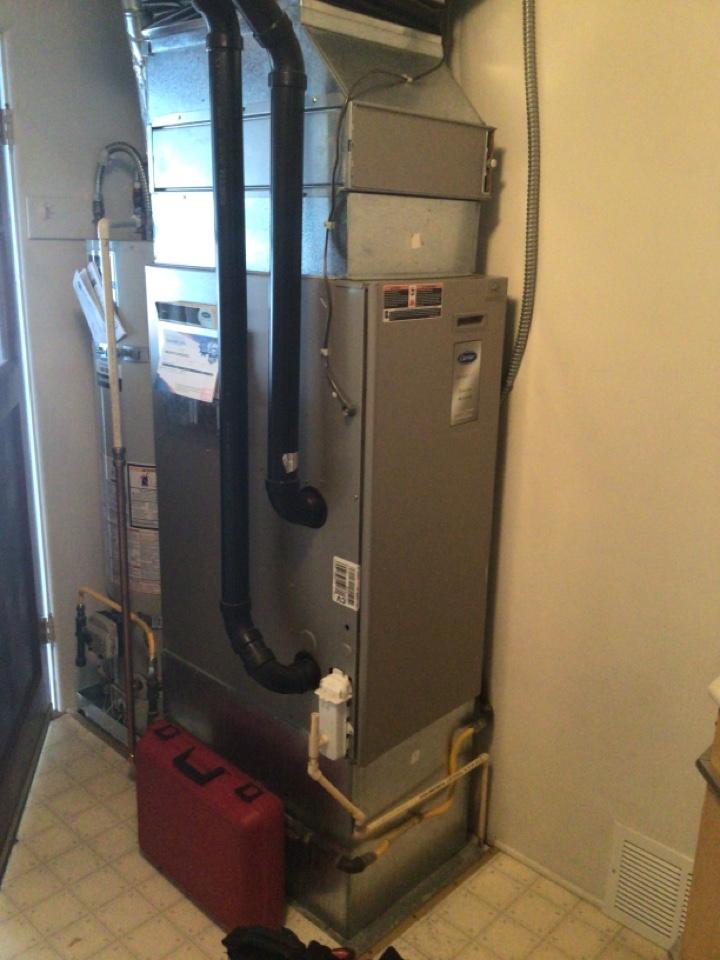Burlington, WA - Performed furnace maintenance for customer. Burlington WA