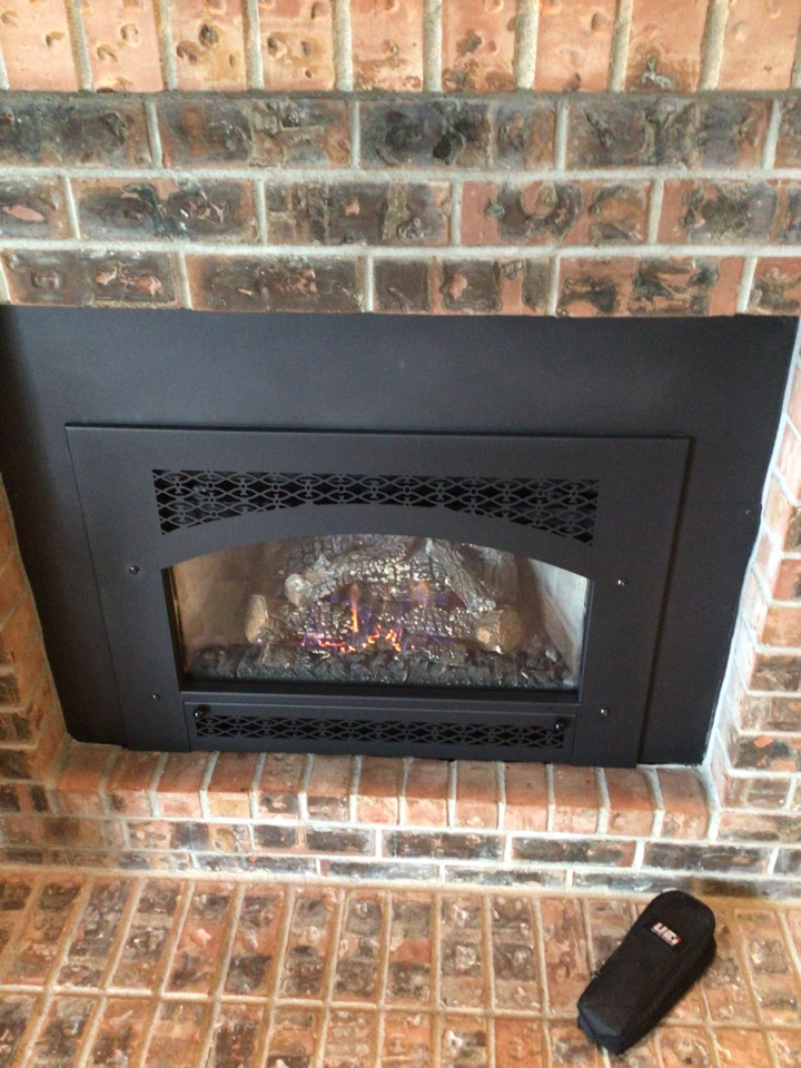 Lynden, WA - Performed fireplace repair for customer. Lynden WA