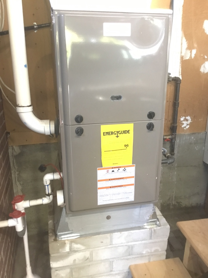 Burlington, WA - Performed furnace maintenance for a family in Burlington Washington