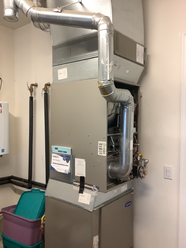 Anacortes, WA - Performed diagnostic on NG furnace, anacortes , WA