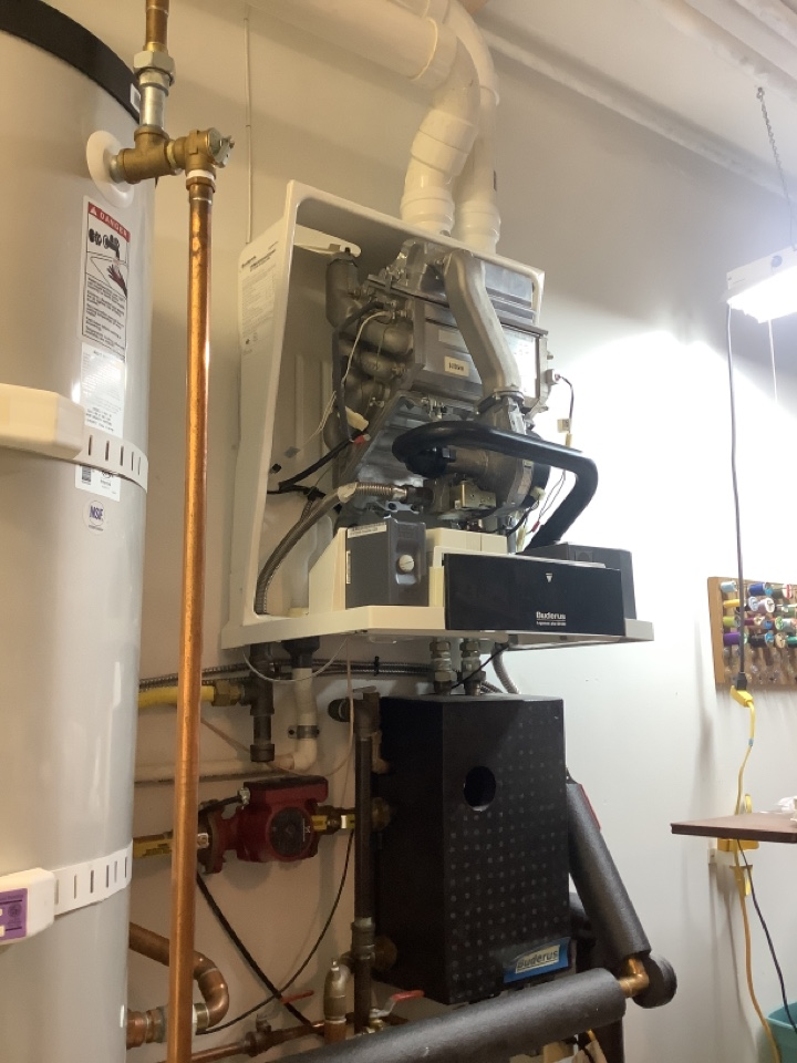 Anacortes, WA - Performed maintenance on high efficiency boiler and diagnostic on NG fireplace, anacortes, WA