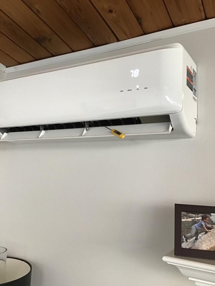 Stanwood, WA - Ductless heat pump inspection in Stanwood, WA.