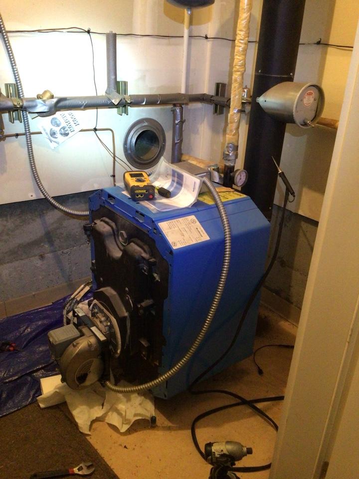 Coupeville, WA - Oil boiler maintenance in Coupeville, WA.