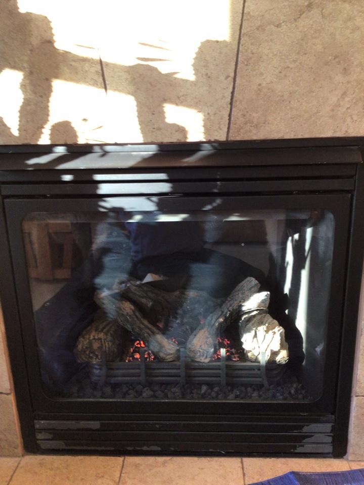 Burlington, WA - Performing fireplace maintenance in Burlington, WA.