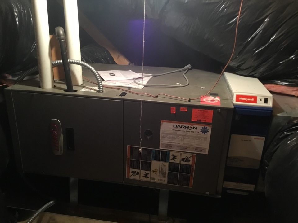 Anacortes, WA - Performed annual furnace maintenance for a family in Anacortes Washington