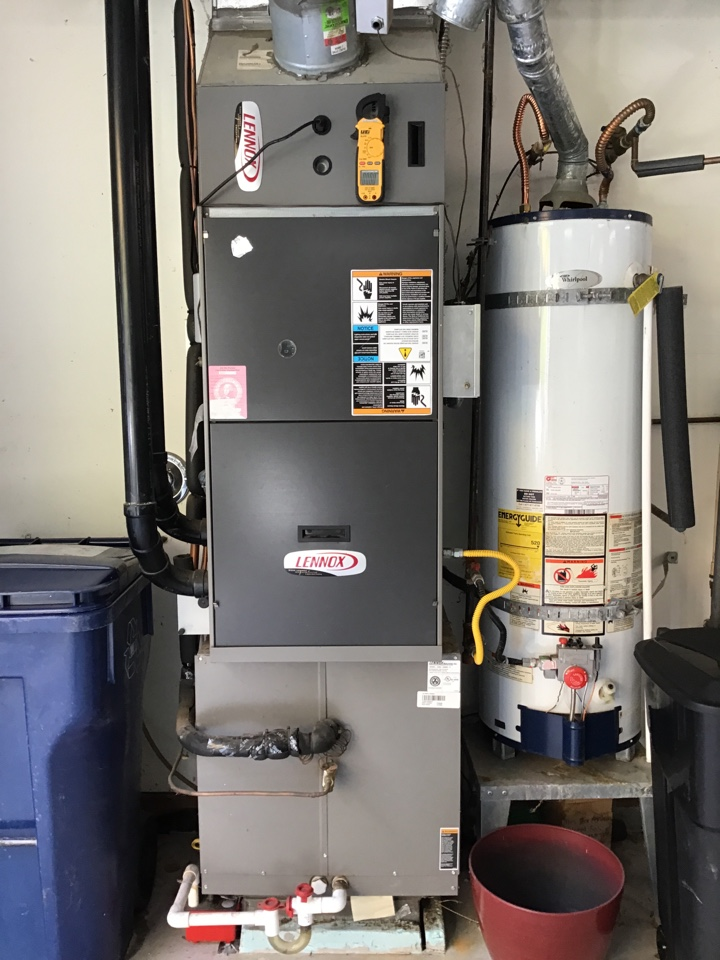 Stanwood, WA - Performing a preventative maintenance on a propane furnace for a family in Stanwood Washington