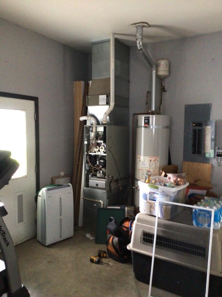 Sumas, WA - Performed furnace diagnostic for customer. Sumas WA