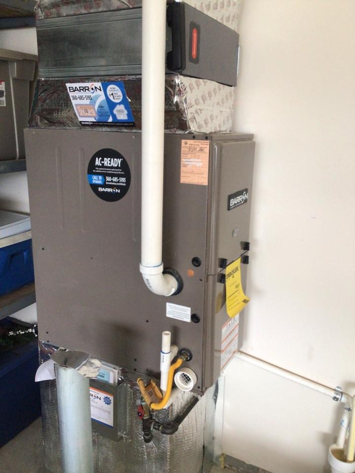 Nooksack, WA - Performed diagnostics on furnace for customer. Everson WA