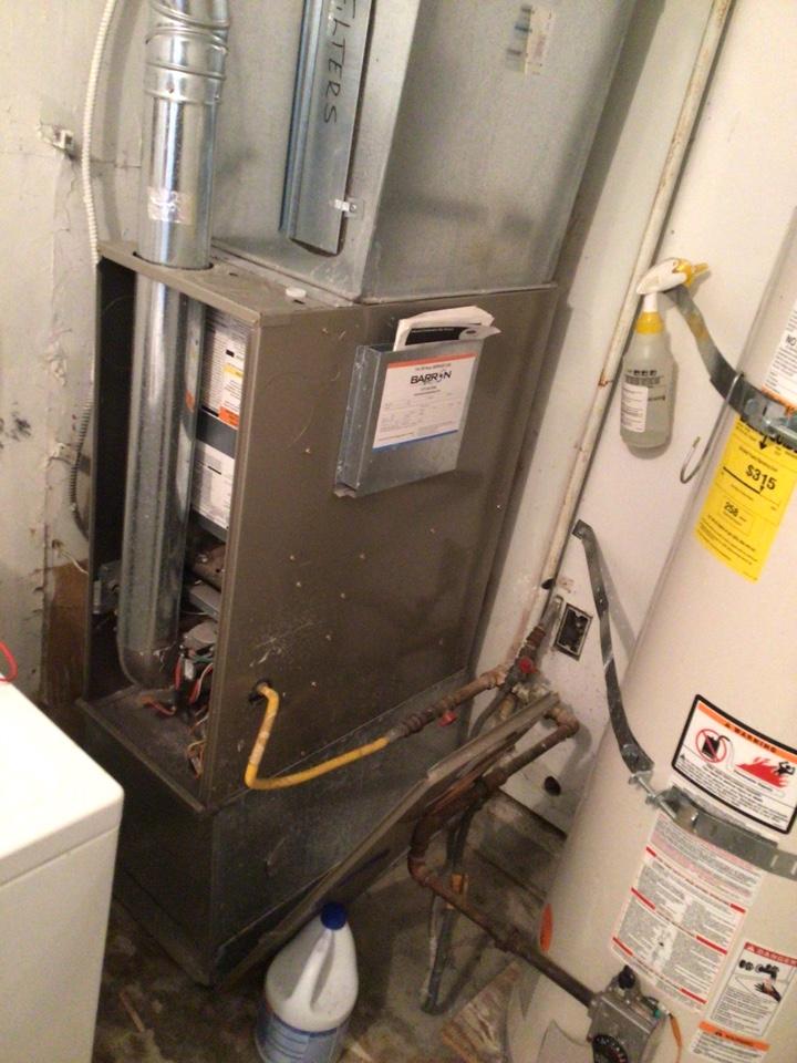 Everson, WA - Performed furnace diagnostic for customer. Everson WA