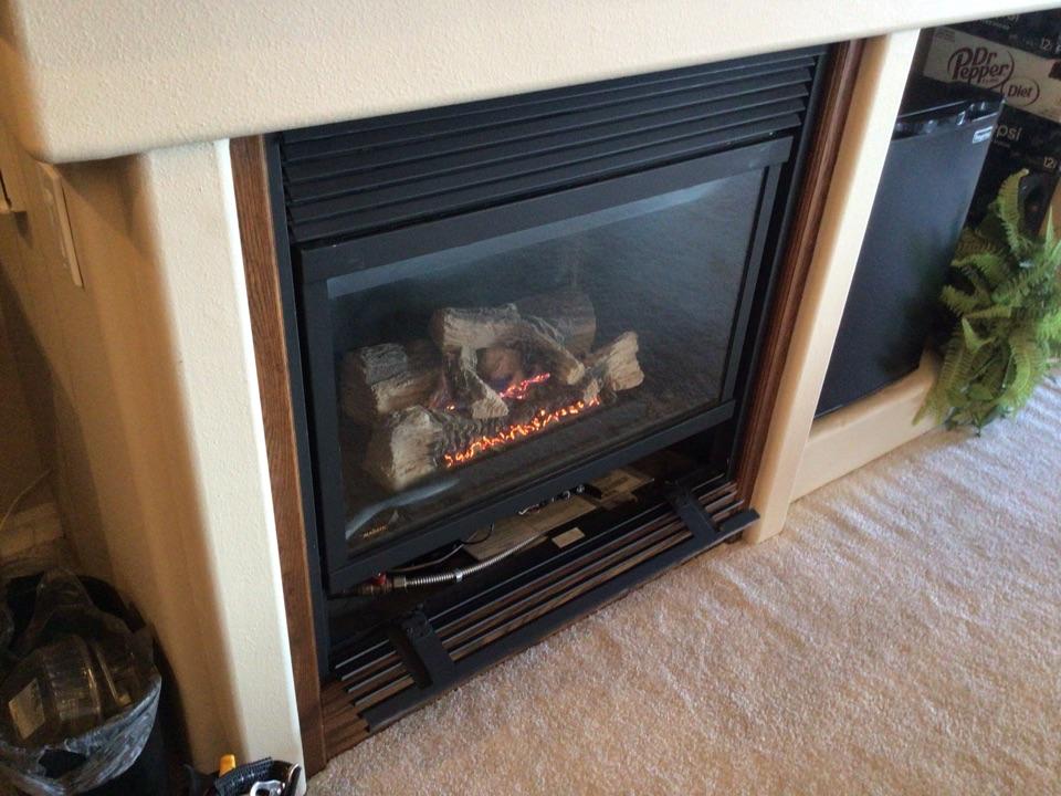 Anacortes, WA - Fireplace repair. Anacortes, WA