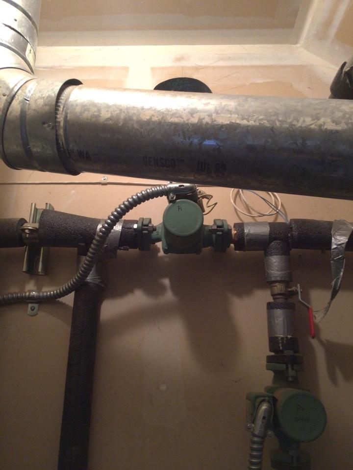 Lynden, WA - Performed diagnostics on boiler system for customer. Mt Vernon WA