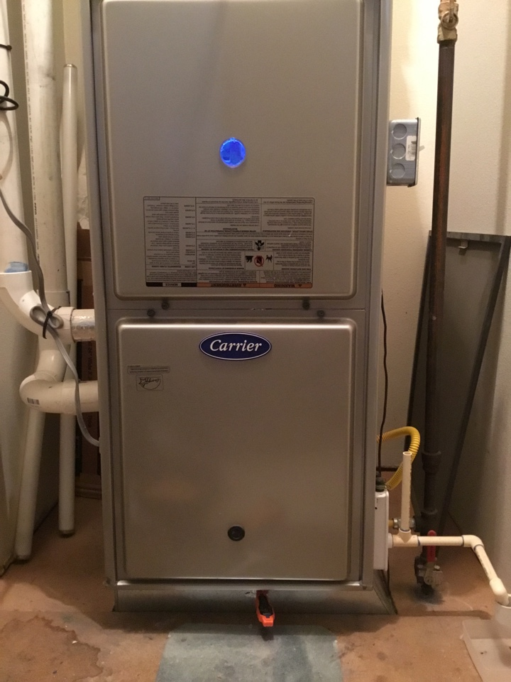 Lynden, WA - Performed annual maintenance on a gas furnace for a family in Lynden Washington