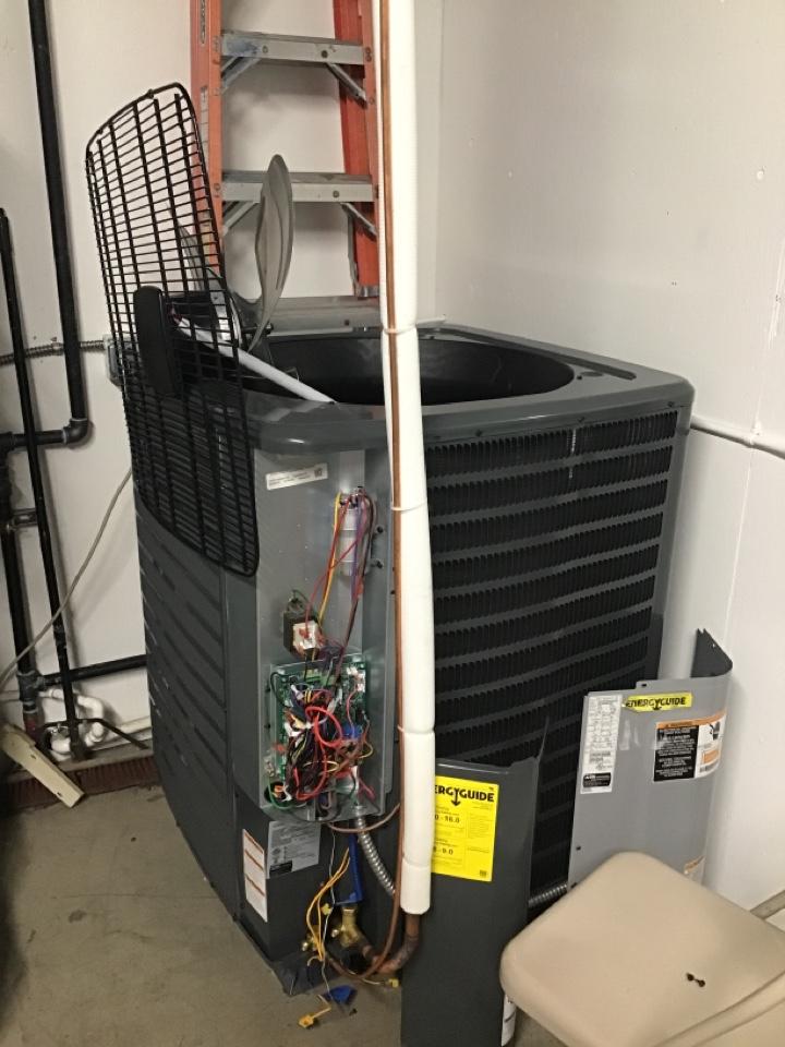 Ferndale, WA - Diagnosing a heat pump in Ferndale, WA