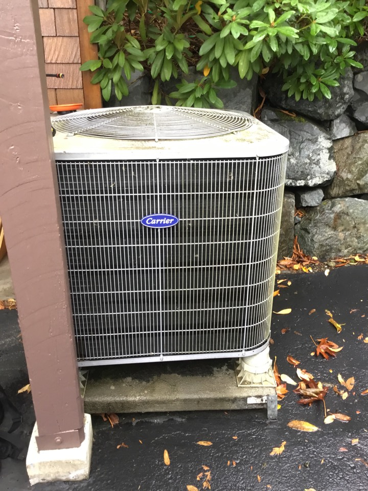 Arlington, WA - Performed annual maintenance on electric furnace and heat pump for a family in snohomish wa