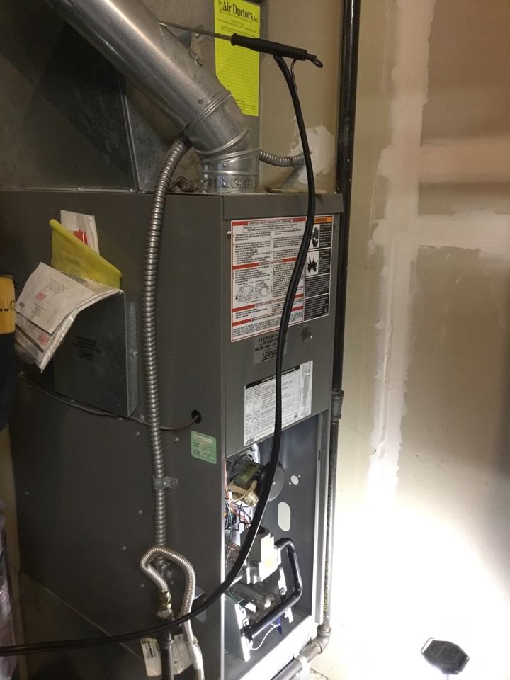 Stanwood, WA - Performed annual maintenance on furnace for a family in Stanwood Washington