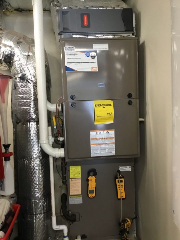 Blaine, WA - Perform an annual maintenance on a gas furnace and air-conditioning for a family in Blaine Washington