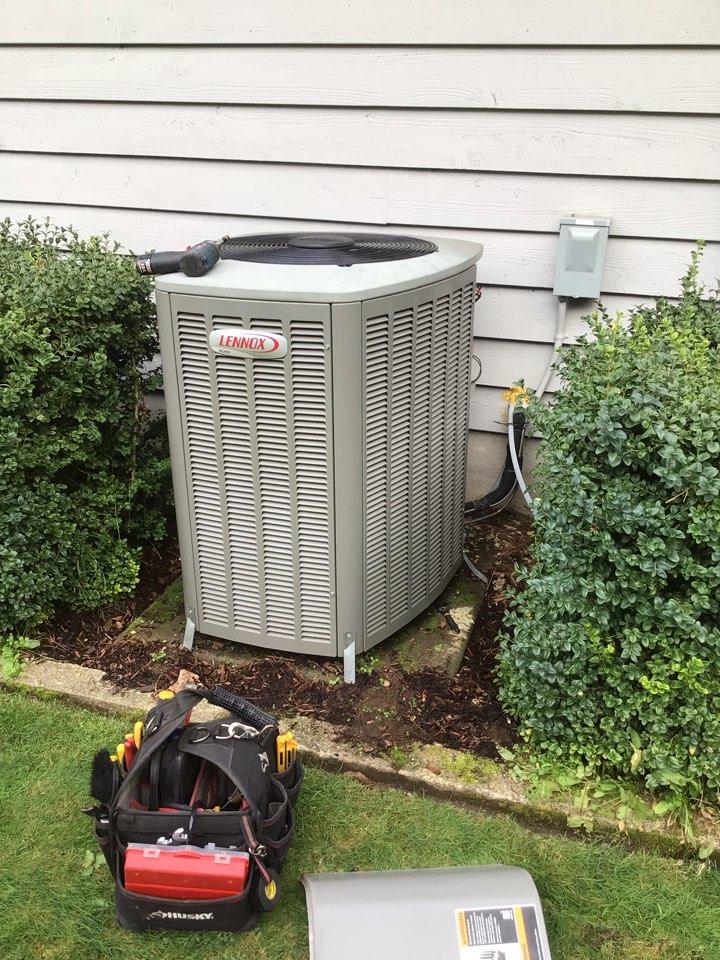 Arlington, WA - Heat pump diagnostic. Arlington, WA