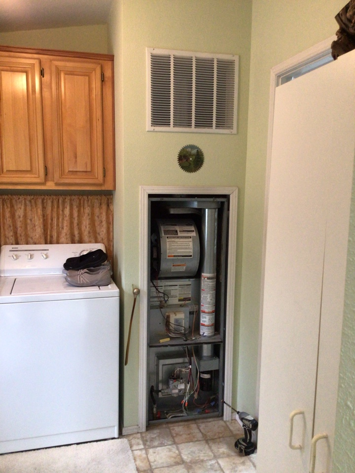 Bellingham, WA - Diagnostic test on the furnace