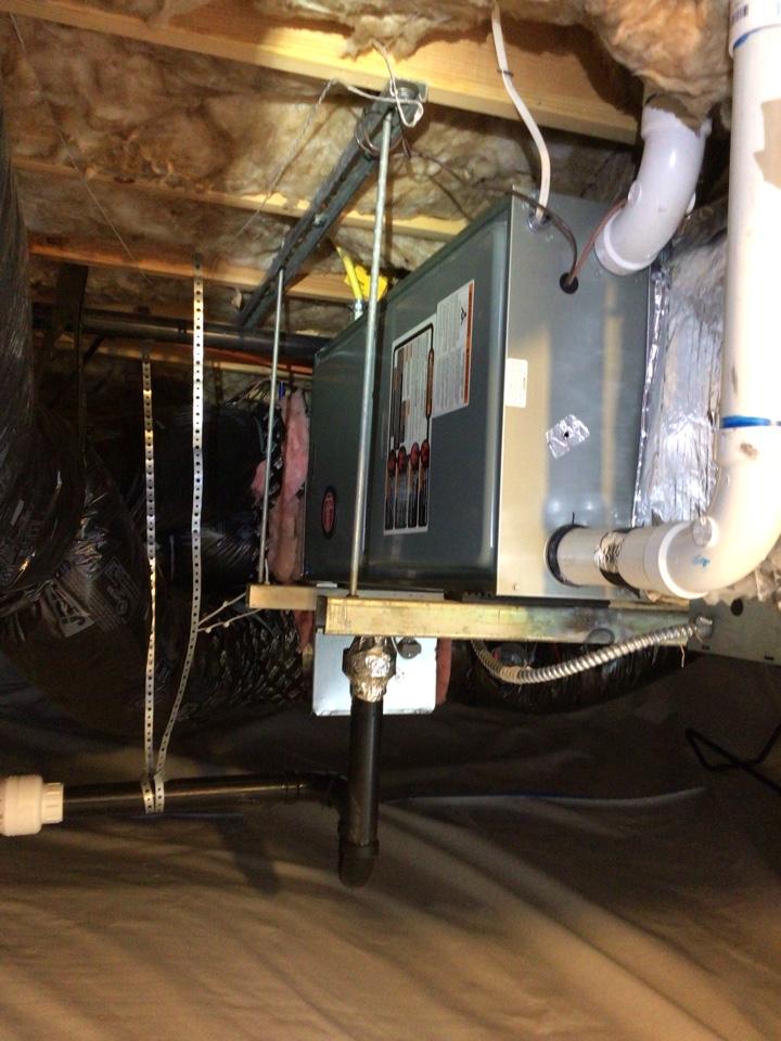 Bellingham, WA - Maintenance on the furnace