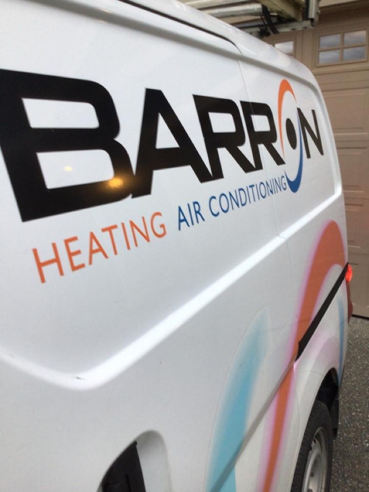 Oak Harbor, WA - Performed annual maintenance on fireplace and furnace for customer in Oak Harbor Washington.