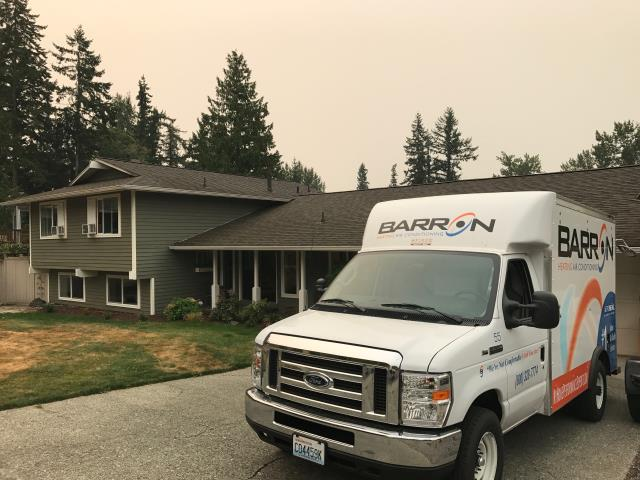 Bellingham, WA - Installing a new furnace and air conditioning unit in Bellingham, WA.