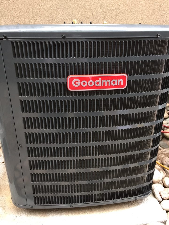 Denver, CO - Replaced a leaking condensing unit.