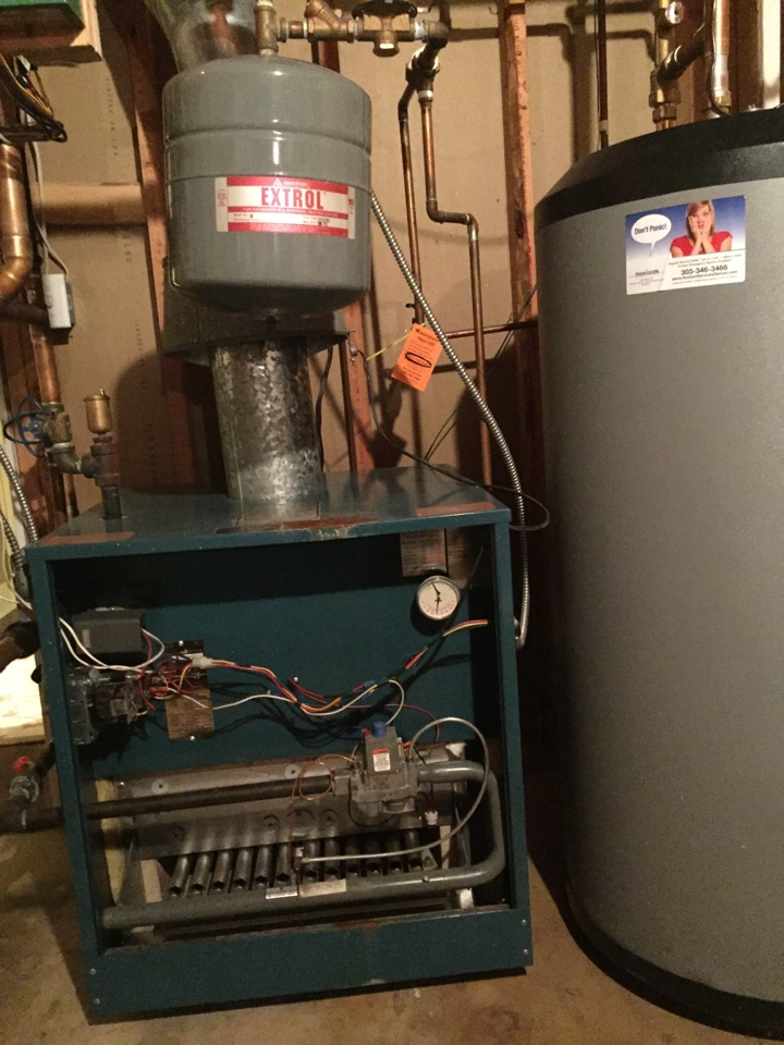 Denver, CO - Boiler maintenance for our newest service agreement member to date.